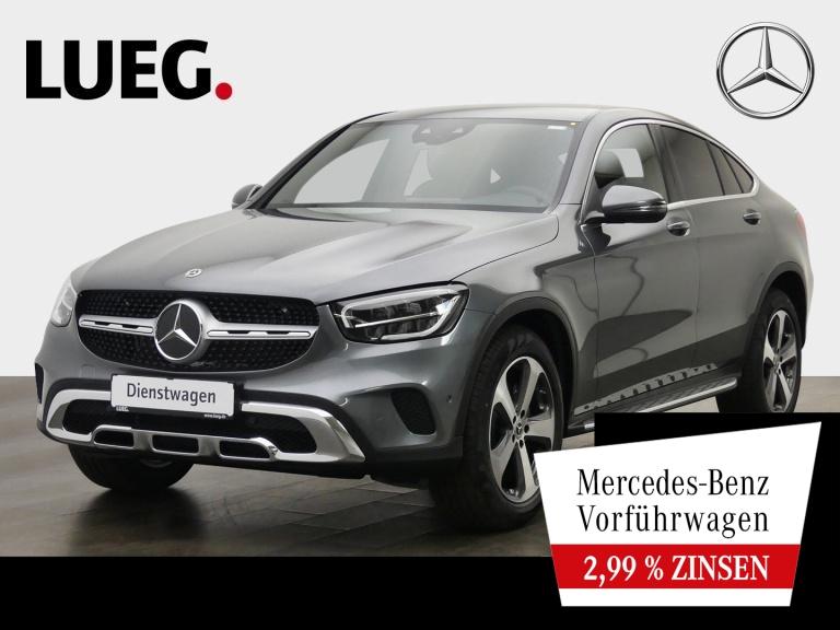 Mercedes-Benz GLC 200 4M Coupé 19''+LEDER+SITZKLIM+KAM+LED+PTS, Jahr 2020, Benzin