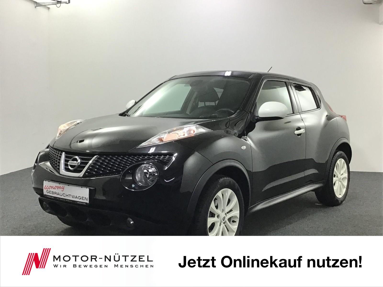 Nissan Juke 1.6 VISIA NAVI+LEDER+KLIMAAUTOMATIK, Jahr 2013, Benzin