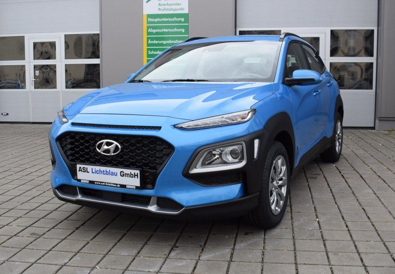 Hyundai Kona 1.0 T-GDi M/T Select Klima Freisprech., Jahr 2020, Benzin