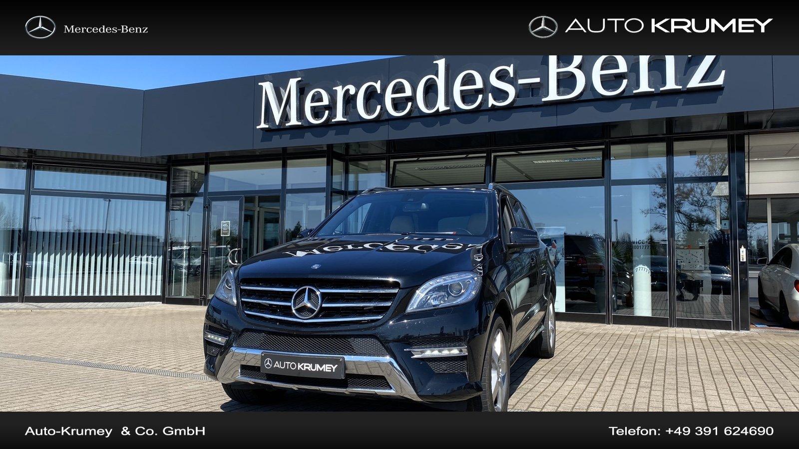 Mercedes-Benz ML 350 CDI DPF 4MATIC BlueTec COMAND,AMG-Styling, Jahr 2015, Diesel