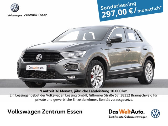 Volkswagen T-Roc Sport 1.5 TSI DSG LED Navi SHZ ACC, Jahr 2020, Benzin