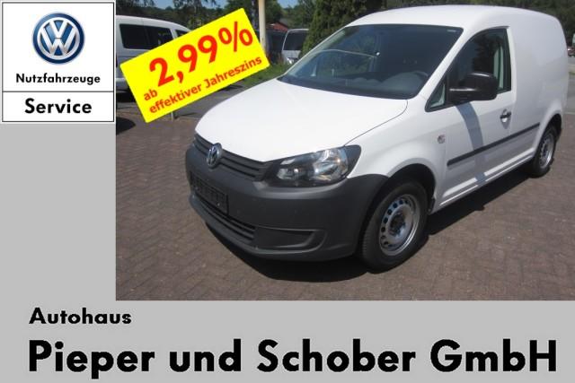Volkswagen Caddy Kasten TSI E-Paket AHK Flügeltüre Trennwand, Jahr 2015, Benzin