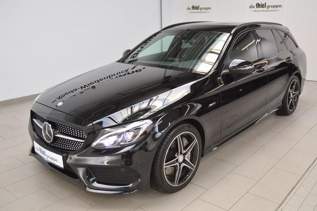 Mercedes-Benz C-Klasse C43 AMG T 4Matic NAVI+LED+Night Paket+, Jahr 2015, petrol