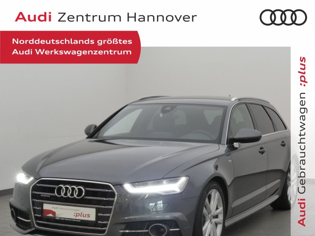 Audi A6 Avant 3.0 TDI qu. S-line, LED, Alcant., BOSE, Navi, eSitze, Jahr 2018, Diesel