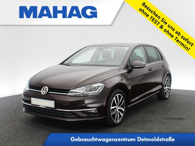 Volkswagen Golf VII 1.0 TSI JOIN Navi LED Kamera AppConnect Sitzhz. ParkPilot DynLightAssist FrontAssist 17Zoll 6-Gang, Jahr 2018, Benzin
