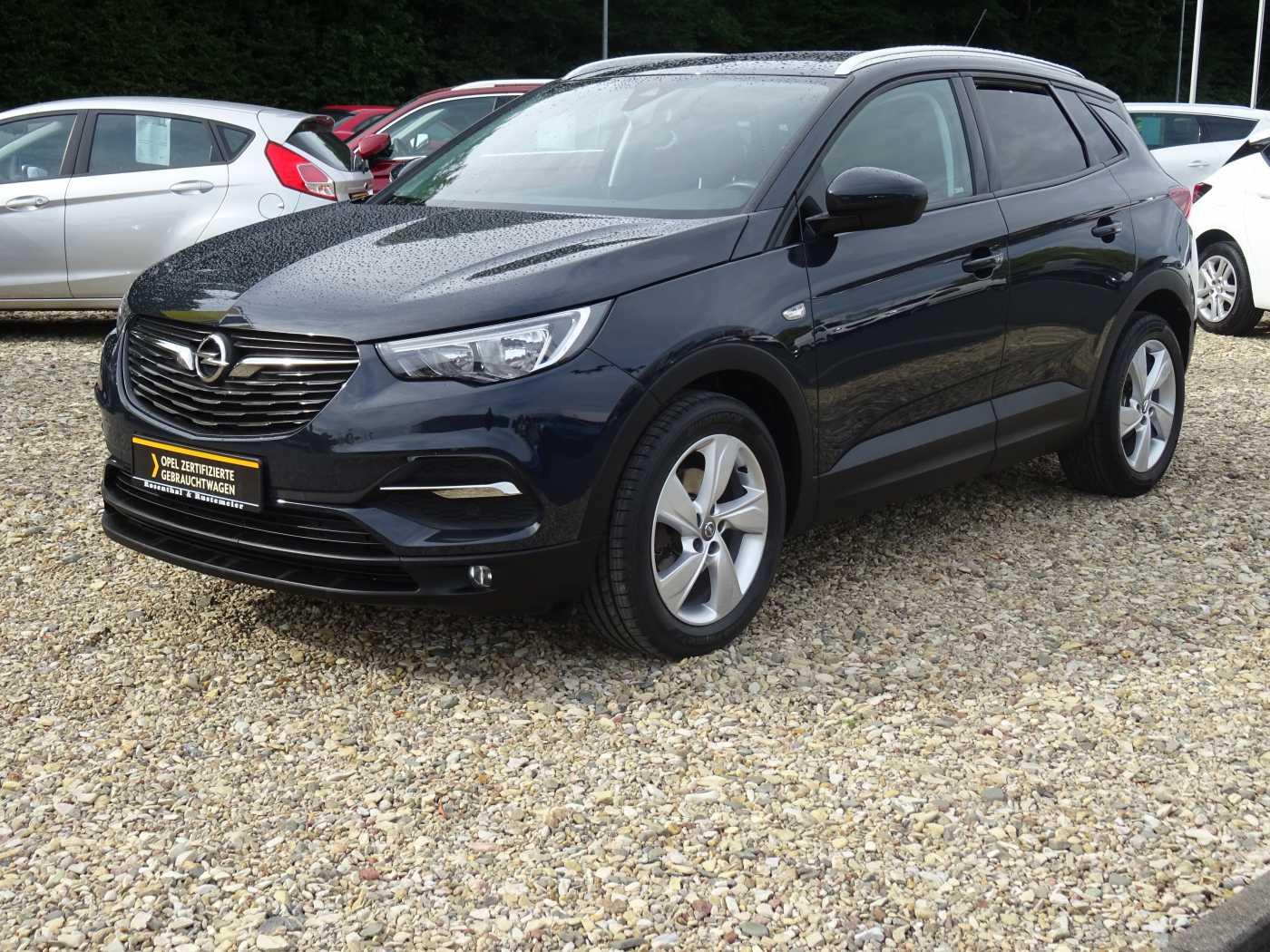 Opel Grandland X 1.2 Edition SITZHEIZUNG BLUETOOTH, Jahr 2018, Benzin