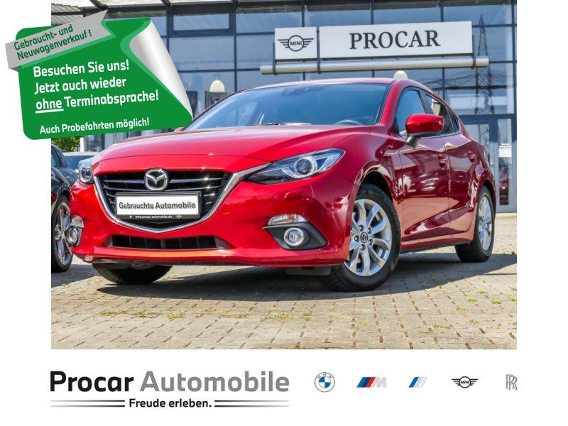 Mazda 3 Sports-Line+Automatik+LED+elektr.Sitze +Metallic, Jahr 2015, Benzin