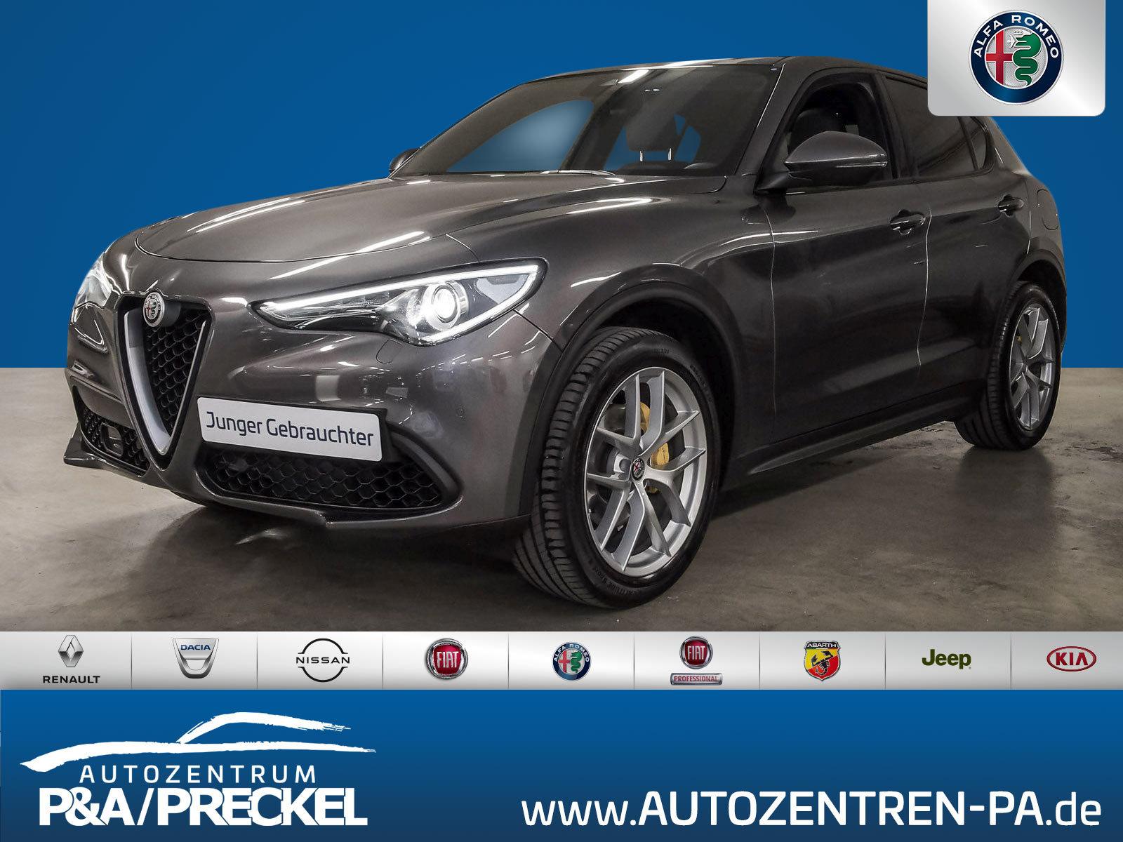 Alfa Romeo Stelvio Super 2.0 Turbo /Navi/Bi-Xenon/Kamera/, Jahr 2018, Benzin