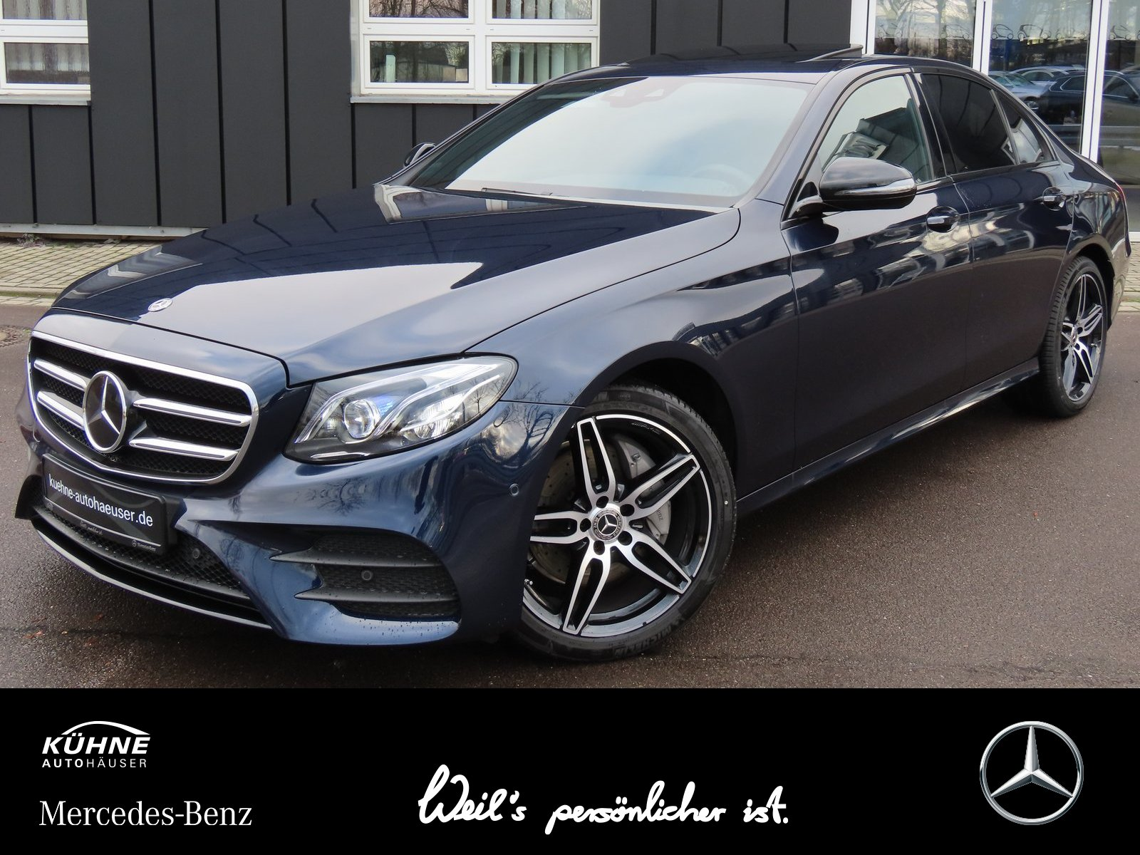 Mercedes-Benz E 220 d 4M AMG+Busi+Multi+Comand+Night+SHD+Distr, Jahr 2020, Diesel