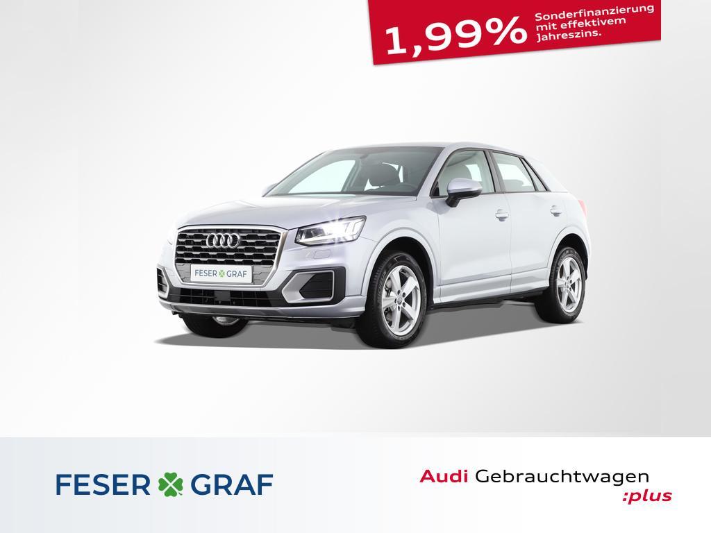 Audi Q2 Sport 30 TFSI LED/AHK/Navi/DAB/Alu-17`, Jahr 2020, Benzin
