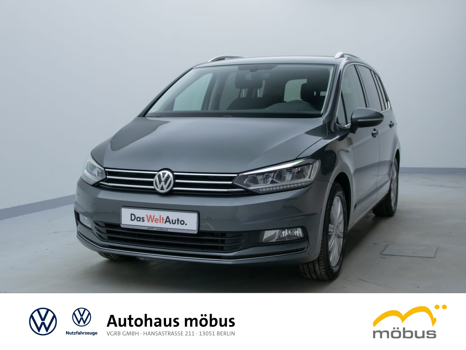 Volkswagen Touran 1.4 TSI DSG*HIGHL*7-SITZ*RFK*LED*ACC*NAVI, Jahr 2017, Benzin