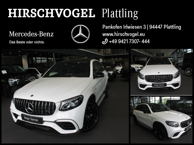 Mercedes-Benz GLC 63 AMG 4M+ Night+ABC+Pano+AHK+Com+LED+Kamera, Jahr 2019, Benzin