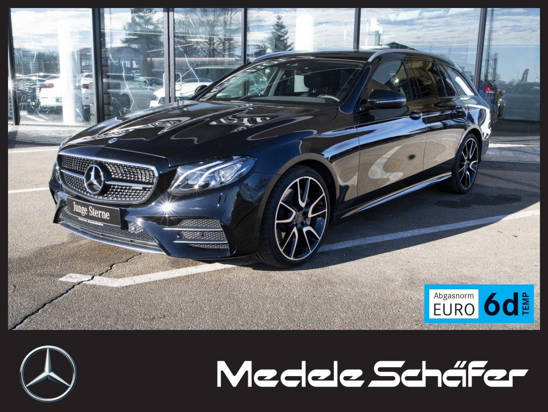 Mercedes-Benz E 53 AMG 4M+ T AirBody PanoSD Com Burmester Kam, Jahr 2018, petrol