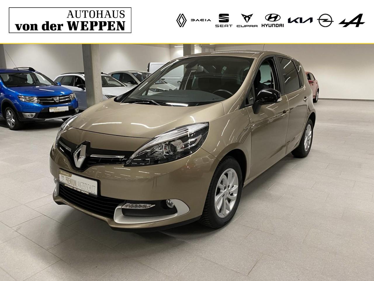 Renault Scenic III Limited Klima Navi SHZ Einparkhilfe, Jahr 2016, Diesel