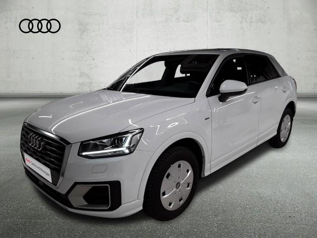 Audi Q2 35 TFSI S tronic sport S line LED AHK Navi DAB PDC Tempomat, Jahr 2020, Benzin