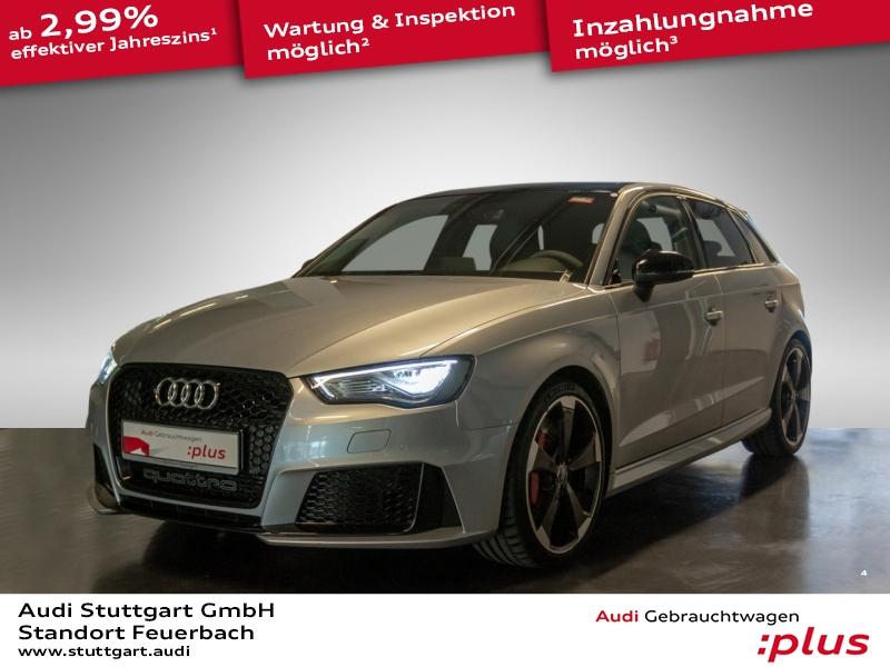 Audi RS 3 Sportback 2.5 TFSI Designpaket B&O Schalens, Jahr 2016, petrol