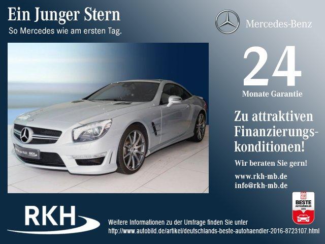 Mercedes-Benz SL 63 AMG COMAND/ILS/Sitzklima/Pano/Kamera/PTS, Jahr 2014, Benzin