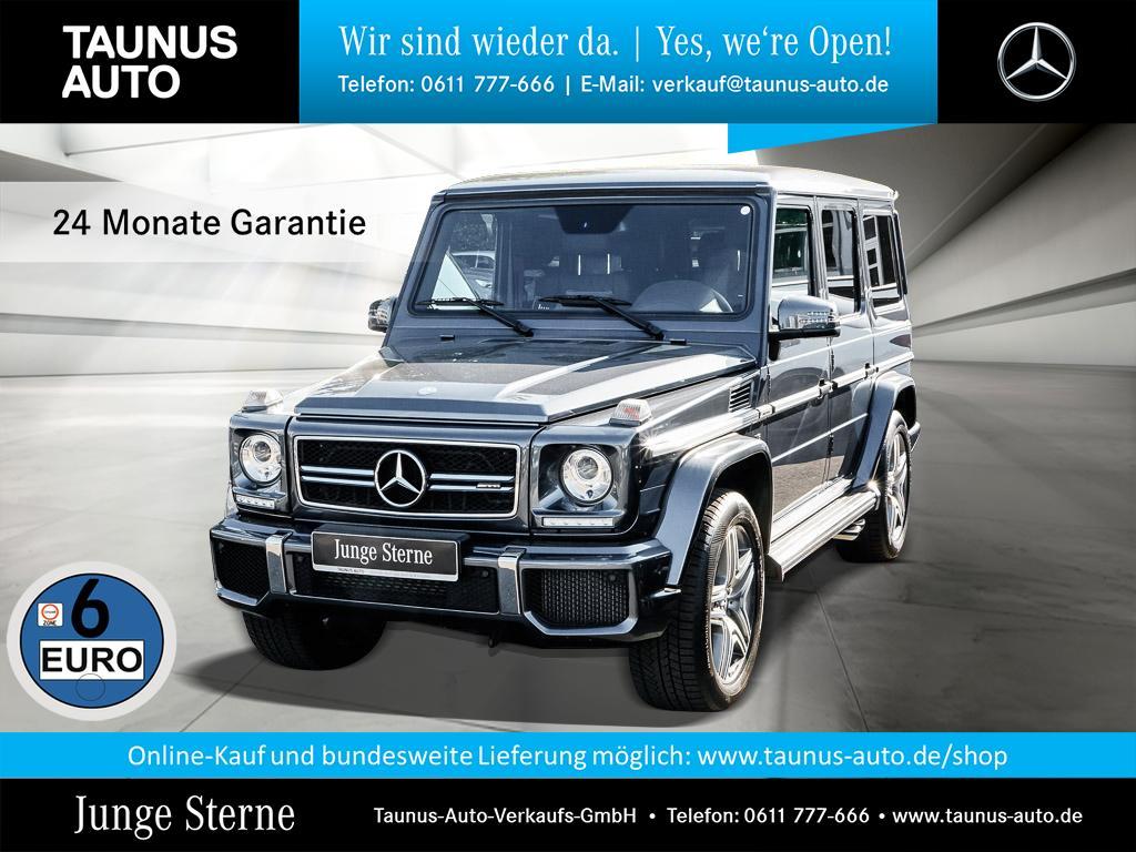 Mercedes-Benz G 63 AMG DESIGNO EXCLUSIVE FOND-ENTERTAINMENT, Jahr 2017, Benzin