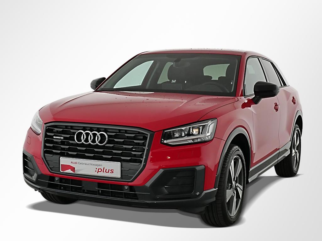 Audi Q2 Design 40TFSI q. Leder/LED/Navi/ACC/AHK/LM18, Jahr 2020, Benzin