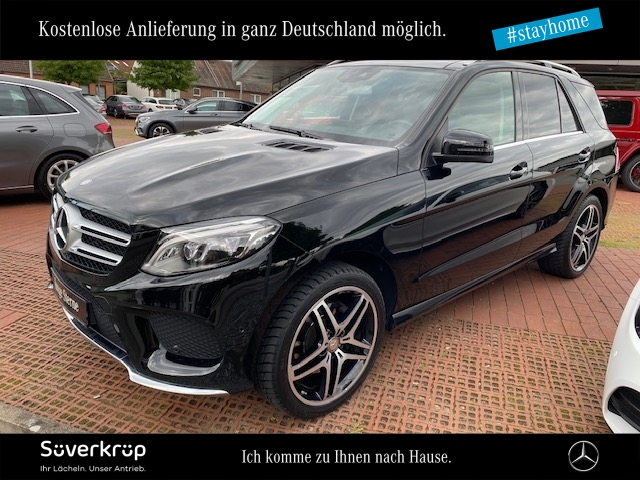 Mercedes-Benz GLE 250 d 4M AMG Line Pano.-Dach/LED/AHK/Kamera, Jahr 2016, Diesel