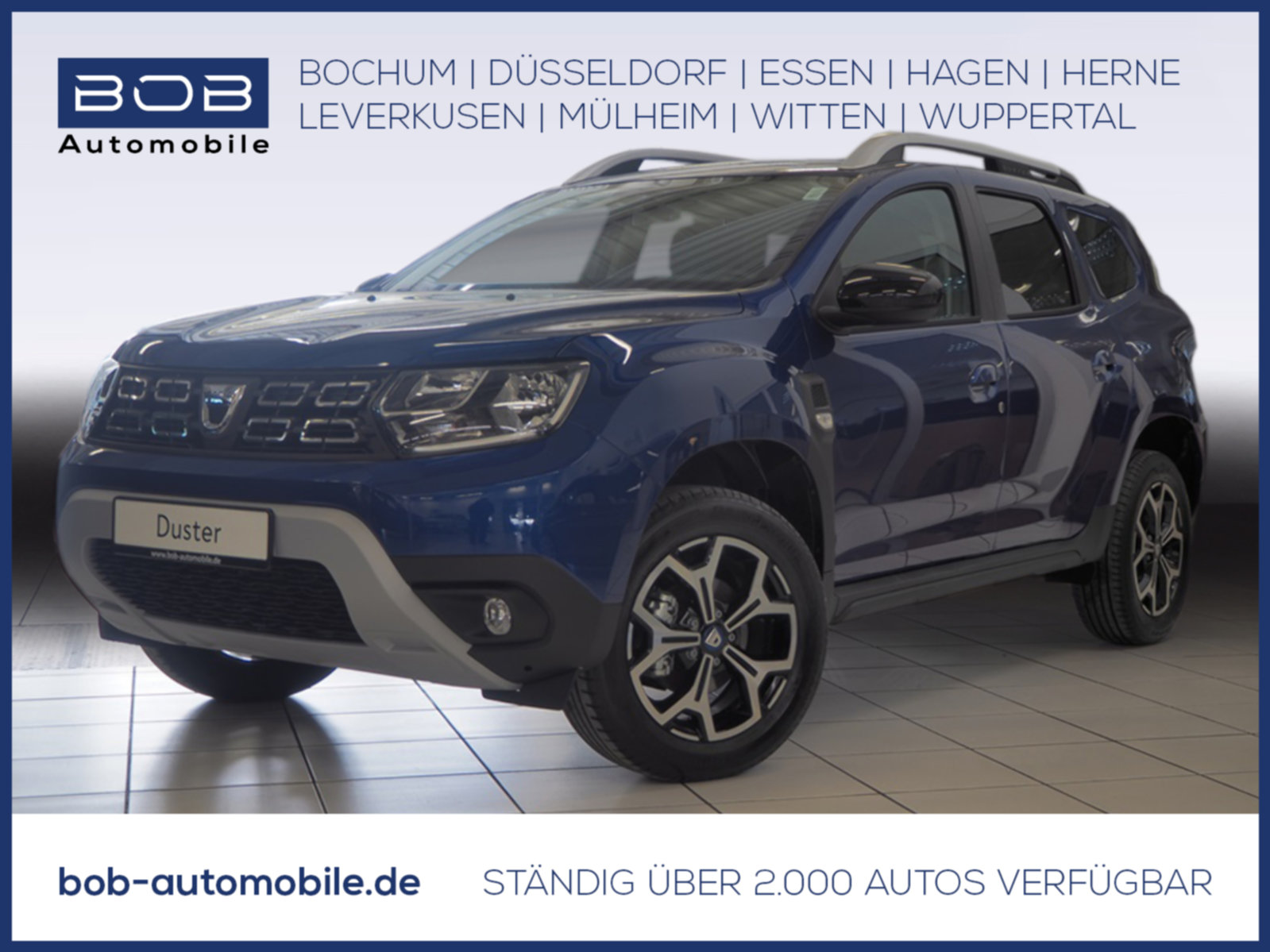 "Dacia Duster Celebration TCe 130 Kamera, AC Auto, 17"", Jahr 2021, petrol"