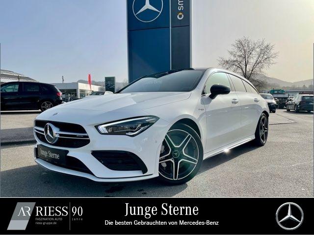 Mercedes-Benz CLA 35 AMG 4M SB Night Navi LED Pano AHK Ambient, Jahr 2020, Benzin