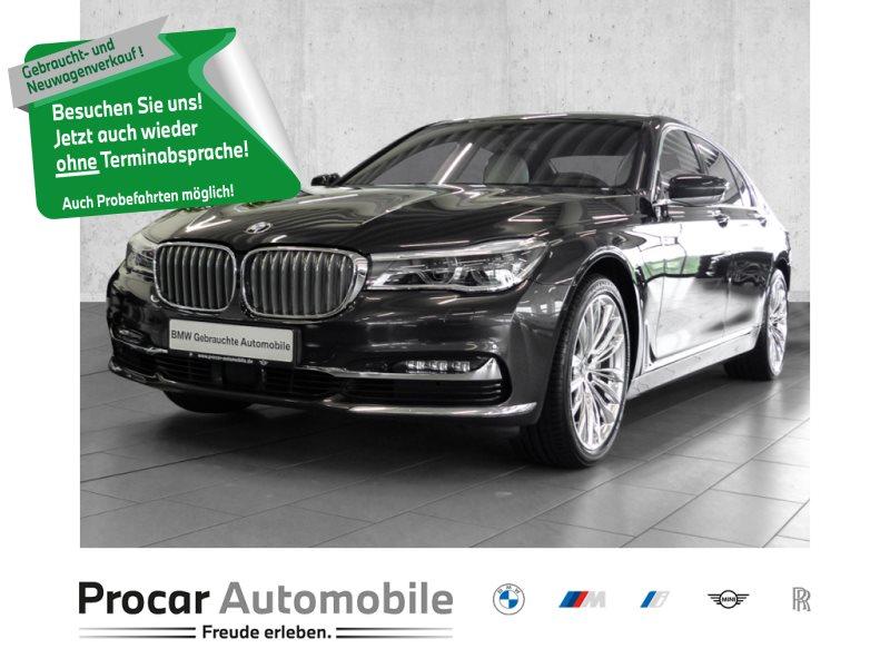 BMW 740d xDrive Limousine Gestiksteuerung Finanz. ab 1%, Jahr 2018, Diesel