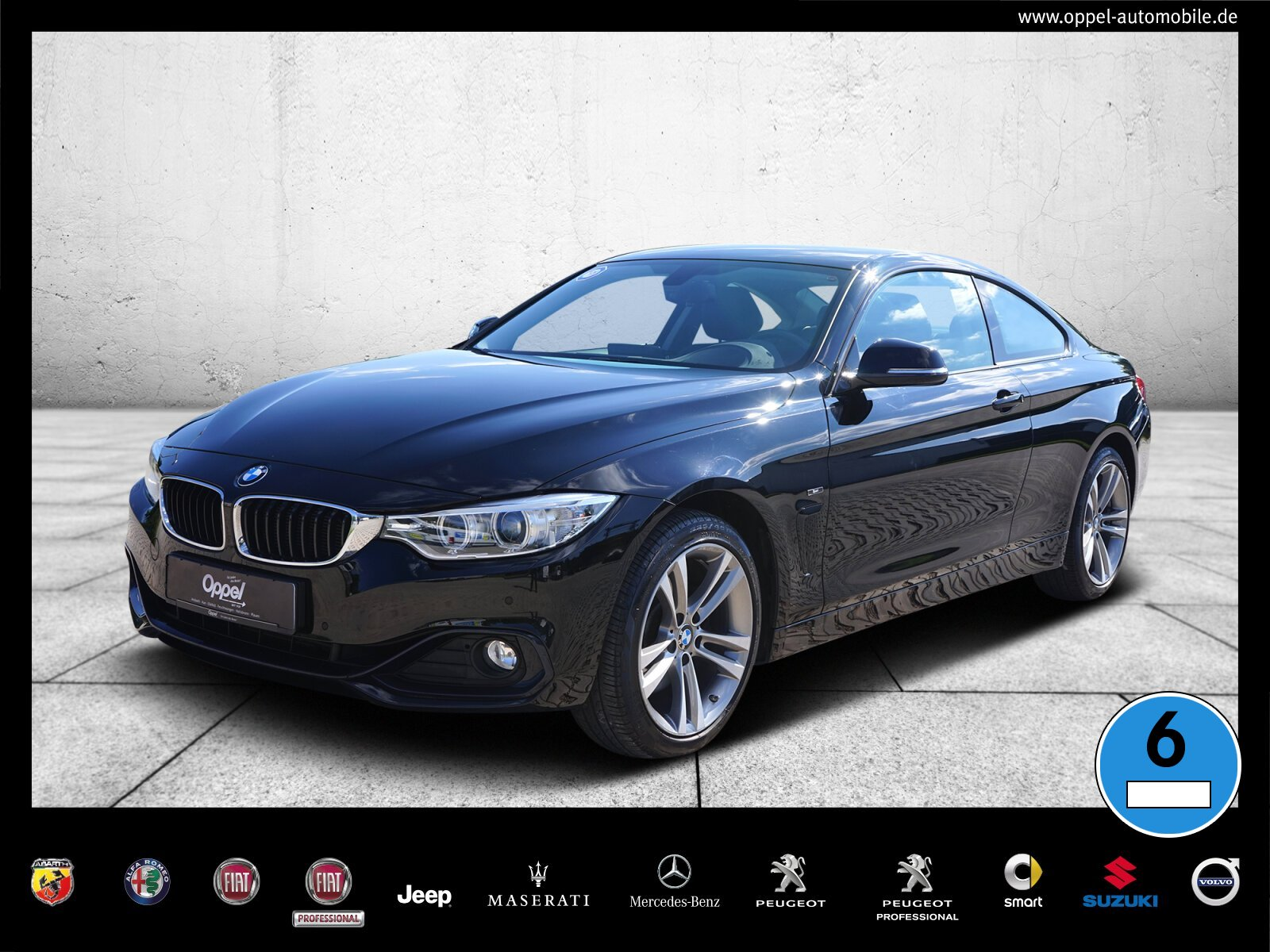BMW 428i xDrive SPORT LINE+NAVI+AUTOM.+KAMERA+XENON+, Jahr 2014, Benzin