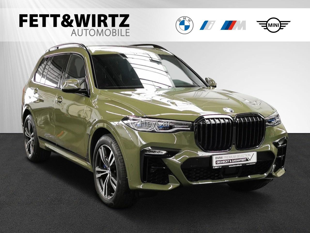 BMW X7 xDrive40d M Sport ''Urban Green'' AHK 6-Sitzer, Jahr 2021, Diesel
