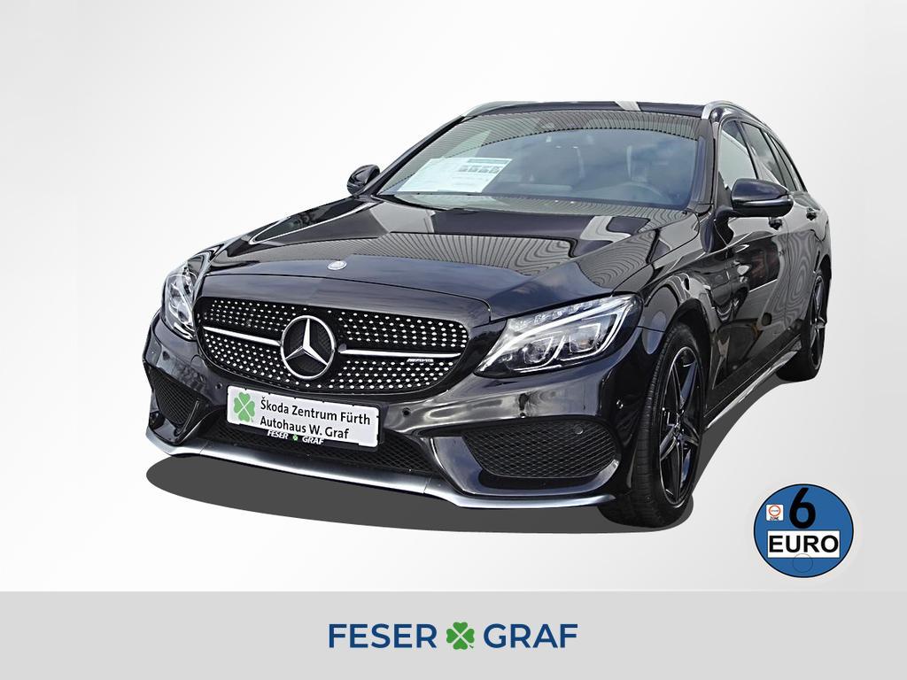 Mercedes-Benz C 43 AMG T 4M *COMAND LED PANORAMA AHK LEDER *, Jahr 2017, Benzin