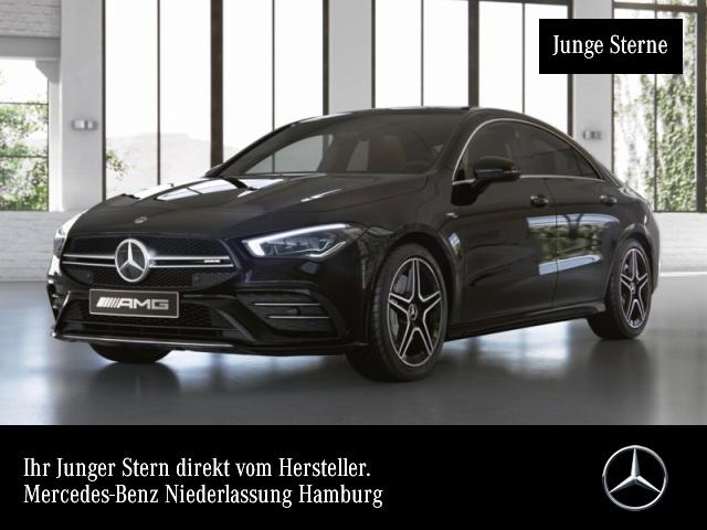 Mercedes-Benz CLA 35 AMG 4M Pano MULTIBEAM MBUX, Jahr 2019, Benzin