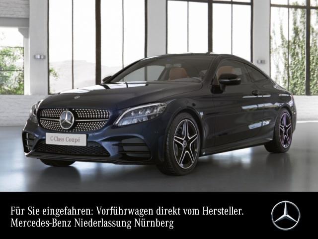 Mercedes-Benz C 200 Coupé AMG+Night+LED+Kamera+Keyless+9G, Jahr 2021, Benzin