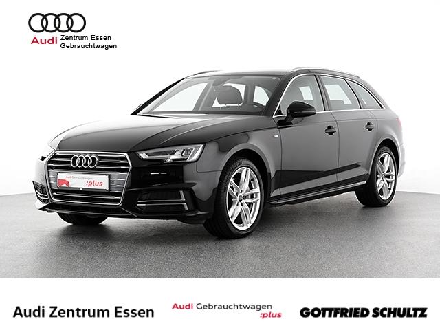 Audi A4 Avant 2.0 TDI sport S-TRONIC NAV PLUS SHZ PDC VO HI S-LINE FSE MUFU S TRONIC Virtuelles Cockpit LED, Jahr 2018, Diesel