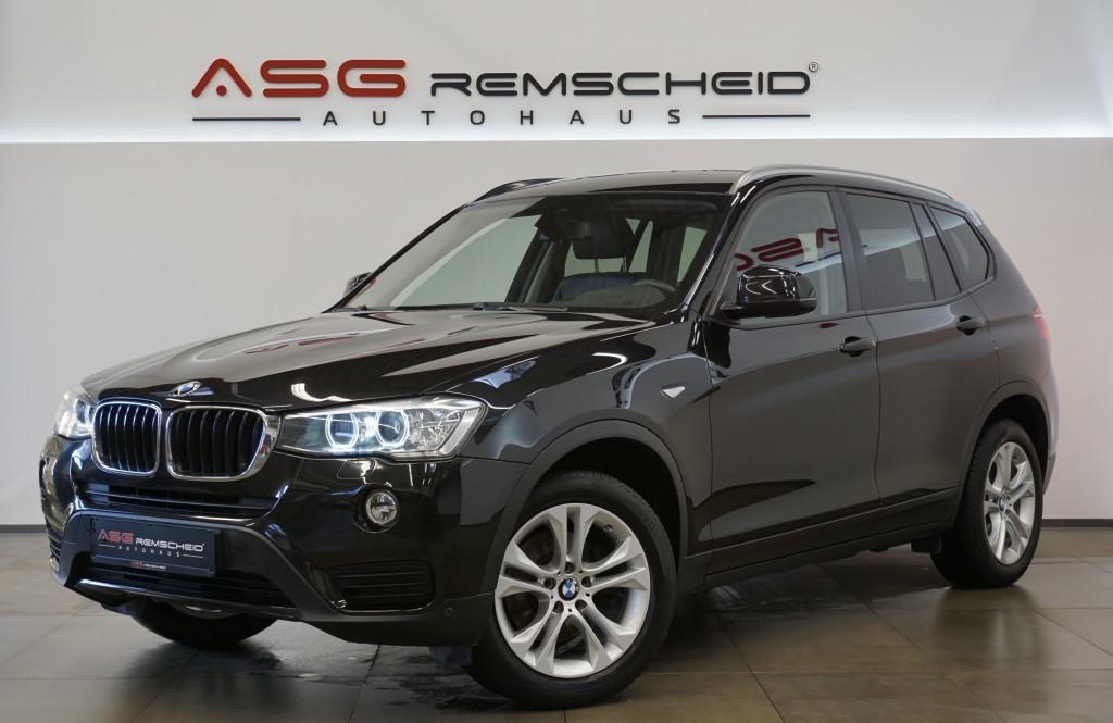 BMW X3 xD 20d *1.Hand *Navi *HeadUP*MwSt.*Standhzg *, Jahr 2016, Diesel