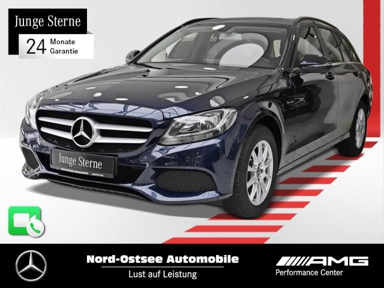 Mercedes-Benz C 200 d T AHK Sitzheizung Parktronic, Jahr 2017, Diesel