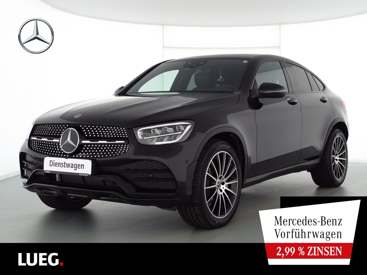 Mercedes-Benz GLC 220 d 4M Coupé AMG+NIGHT+20''+AHK+TOTW+SOUN, Jahr 2021, Diesel