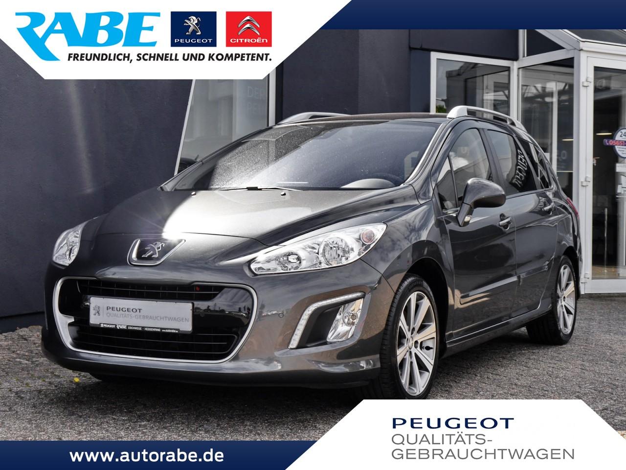 Peugeot 308 SW Allure 150 HDi AHK+Panorama+Klimaaut.+LM, Jahr 2013, Diesel