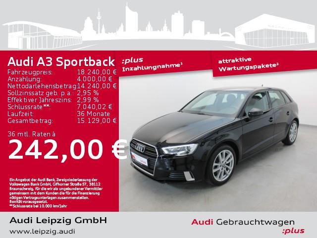 Audi A3 Sportback 1.0 TFSI sport *Sportfahrwerk*, Jahr 2018, Benzin