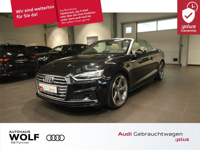 Audi A5 Cabriolet 50 TDI quattro tiptronic 2xS-Line ACC, Jahr 2019, Diesel