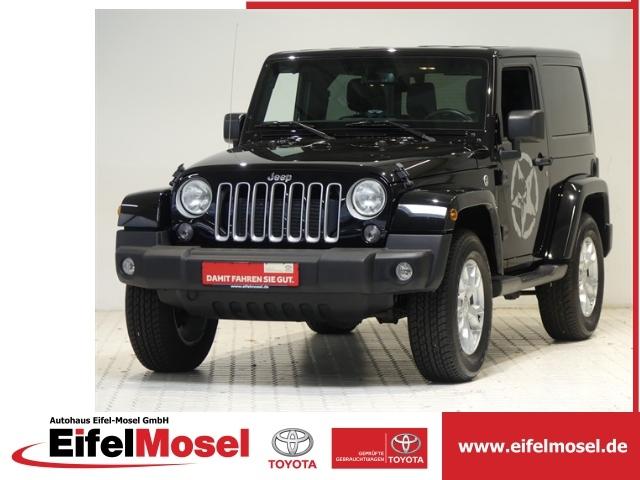 Jeep Wrangler 2,8 CRDI Sahara Leder Automatik Navi, Jahr 2017, Diesel
