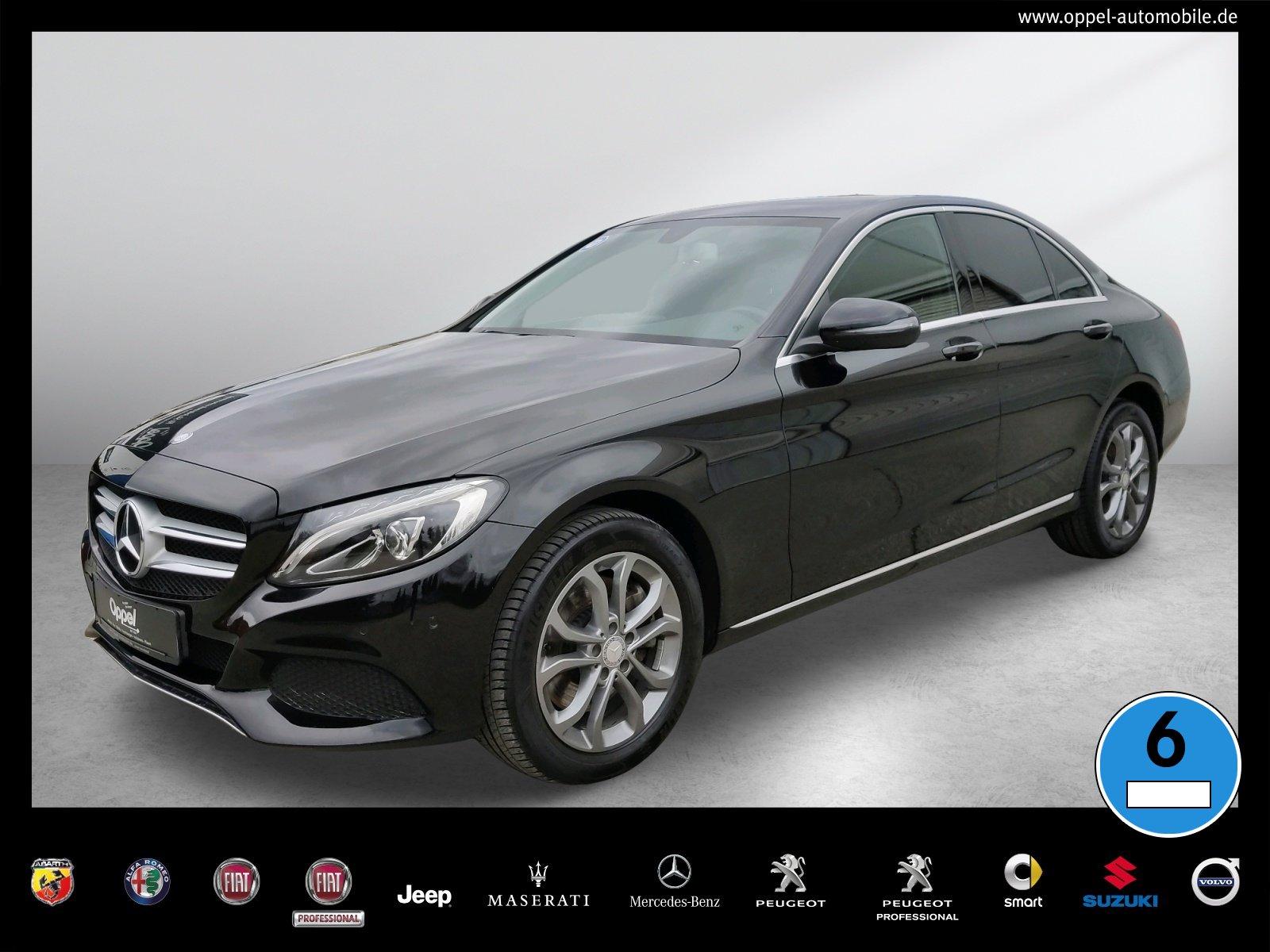 Mercedes-Benz C 250 d 4MATIC Avantgarde LED+SITZH.+TEMPOMAT+7G, Jahr 2015, Diesel