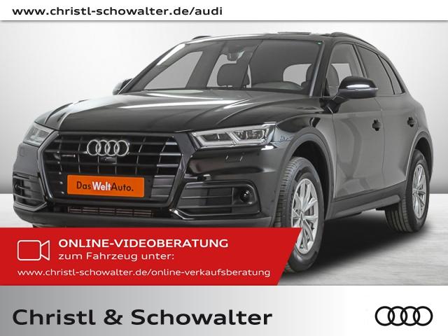 Audi Q5 2.0 l TFSI quattro S tronic AHK LED Bluetooth, Jahr 2018, Benzin