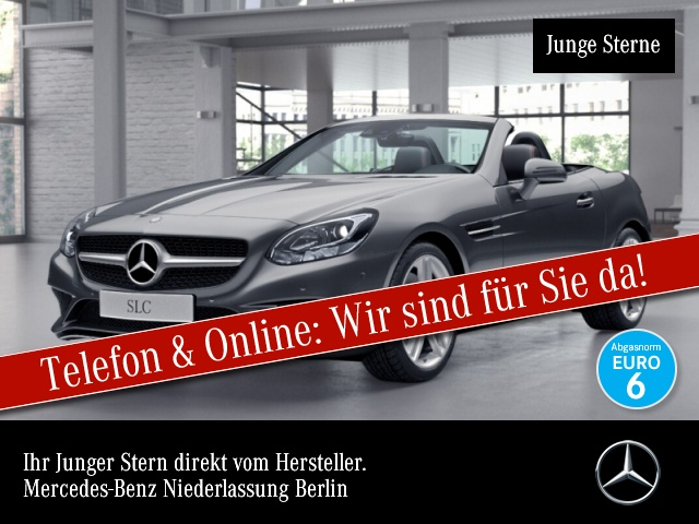 Mercedes-Benz SLC 180 Magic Sky Sportpak COMAND Kamera SpurPak, Jahr 2016, Benzin
