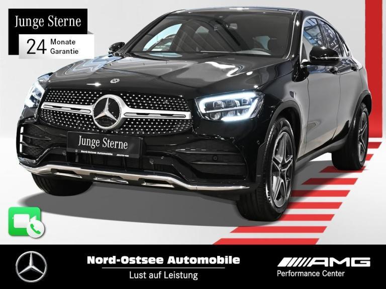 Mercedes-Benz GLC 300 Coupé AMG 4M Navi 360° AHK Distr. MBUX, Jahr 2019, Benzin