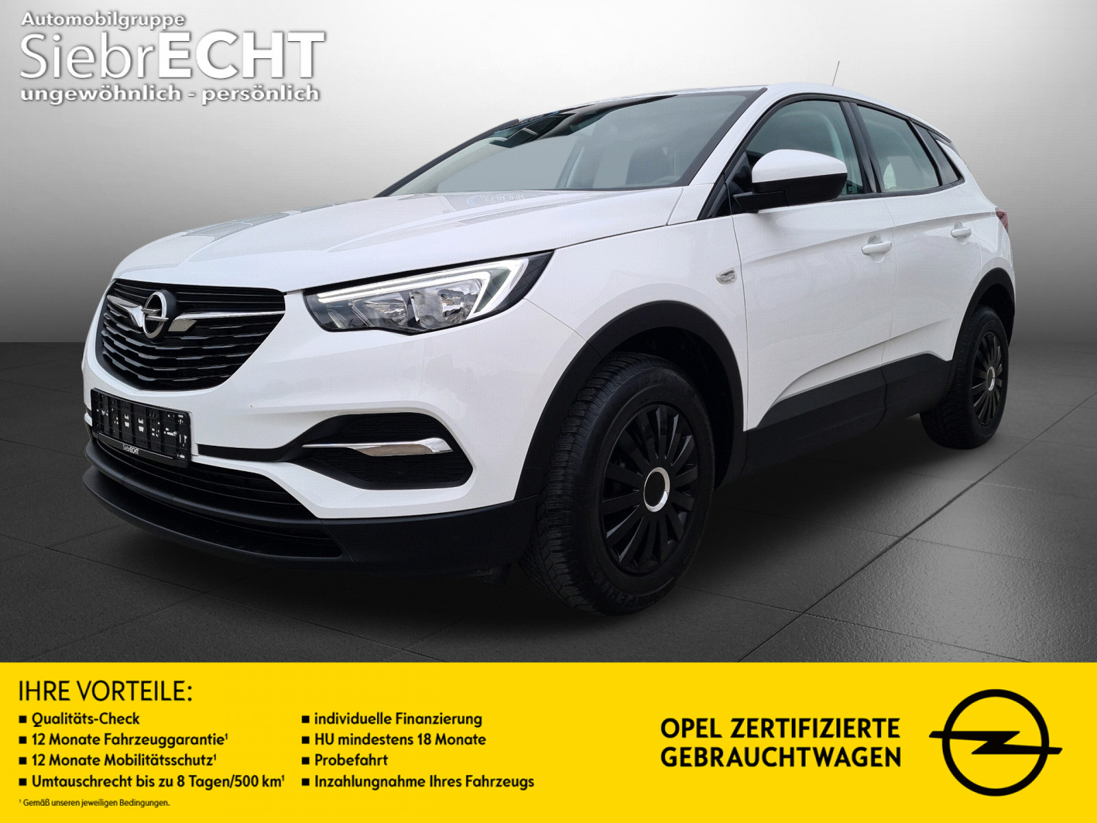 Opel Grandland X, Edition 1.2 Direct Injection Turbo, Jahr 2017, Benzin