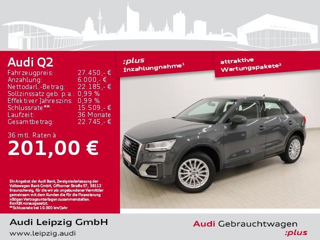 Audi Q2 35TFSI design *S tronic*Audi pre sense front*, Jahr 2020, Benzin