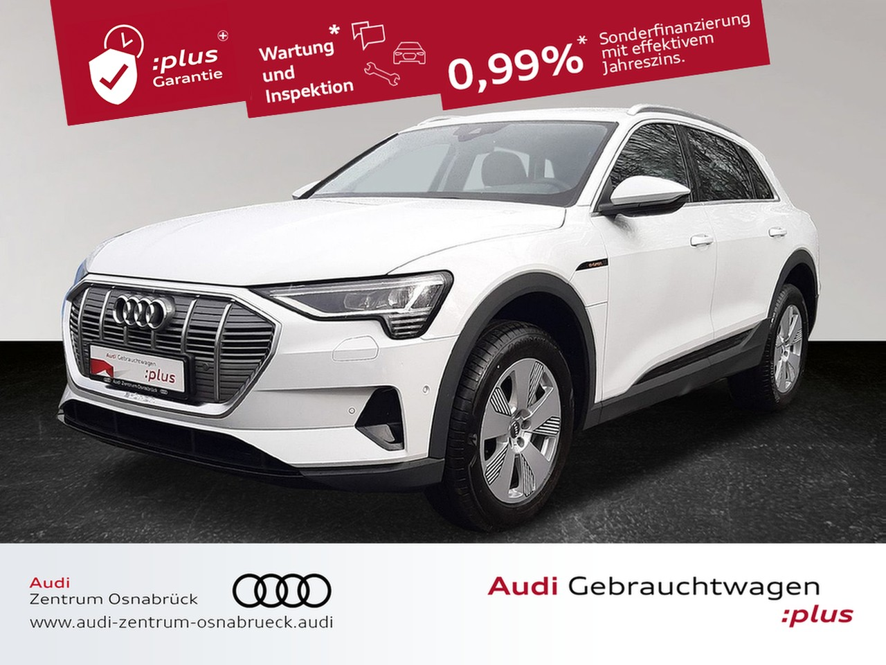 Audi e-tron 50 quattro BAFA-Prämie ACC Navi RFK 2.Ladezugang Matrix-LED VirtualCP, Jahr 2020, Elektro