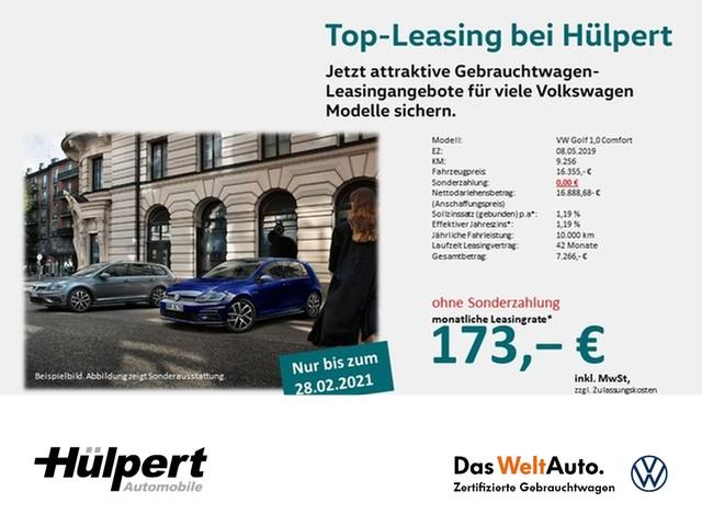 Volkswagen Golf 1.0 OPF Comfort ALU SHZ FRONT ASSIST PDC, Jahr 2019, Benzin