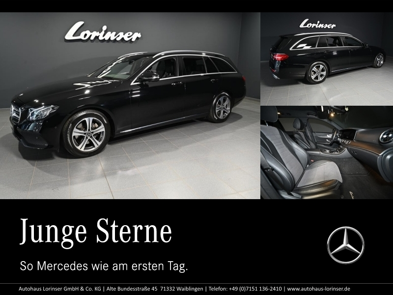 Mercedes-Benz E 300 d T AVANTGARDE/STHZ/NAVI/LED/DISTRO/RFK, Jahr 2018, Diesel