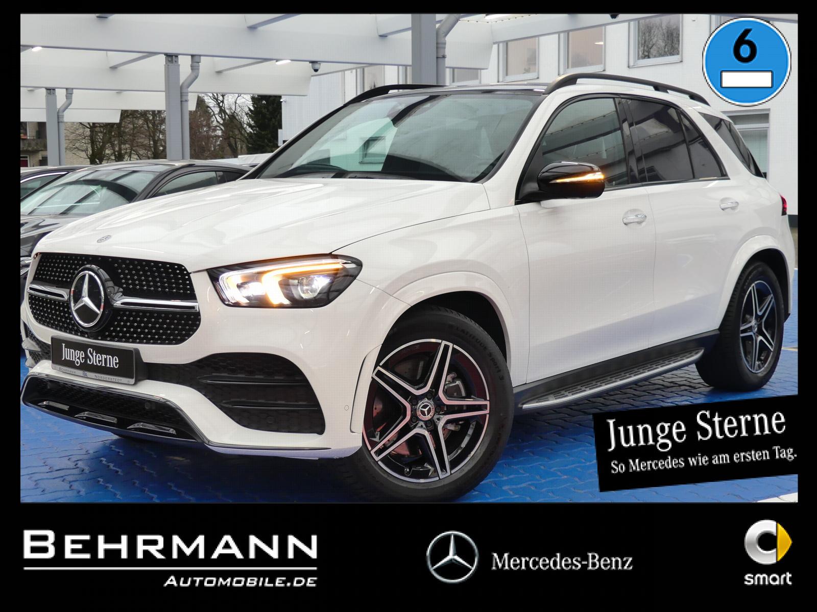 Mercedes-Benz GLE 400 d AMG 4M +MBUX+Widescreen+Panorama+360°+, Jahr 2019, Diesel